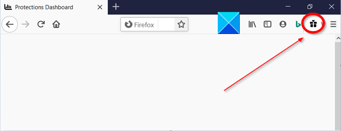 remove What's New Gift Icon from Firefox Toolbar