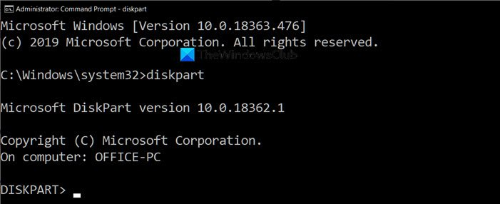 How to Hide or Show Your Hard drive Partitions using Command Prompt