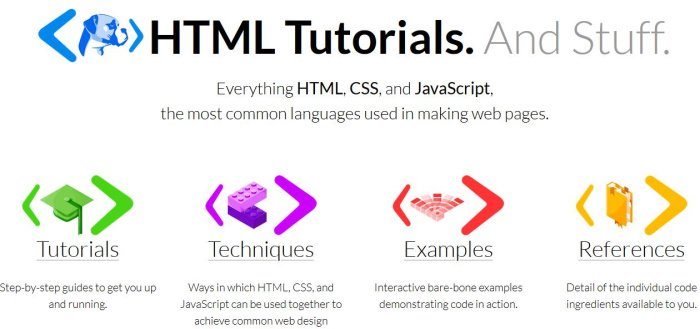 learn or improve your HTML coding