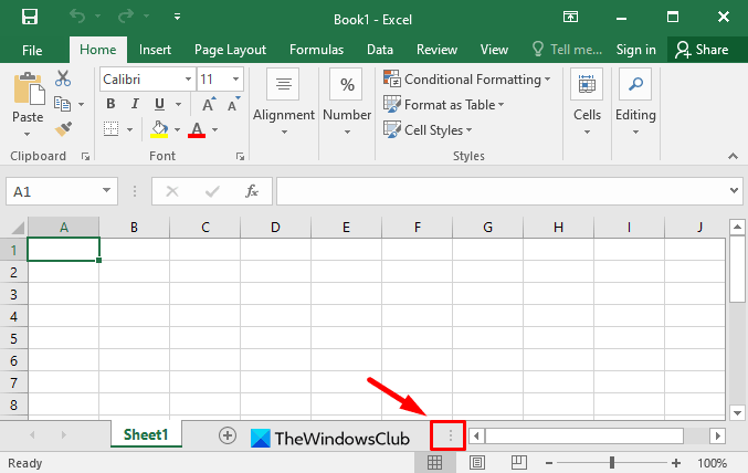 How to Resize the Horizontal Scroll Bar
