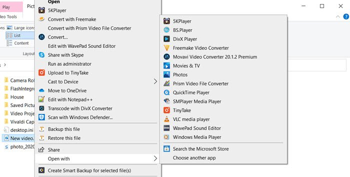 How to make VLC the default media player in Windows 10