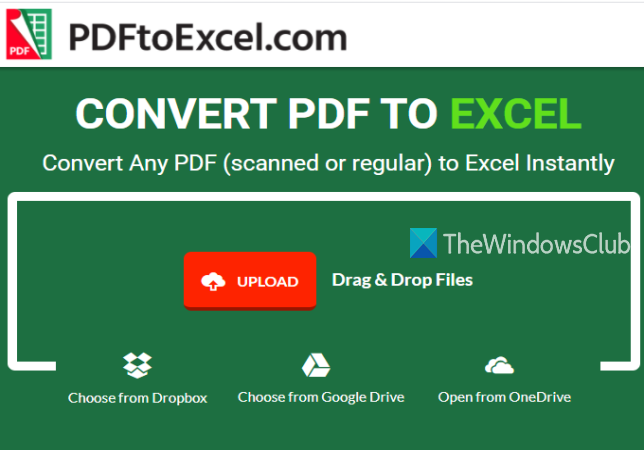 Extract Tables from PDF documents