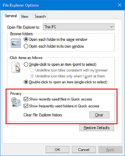 file-explorer-history-clear