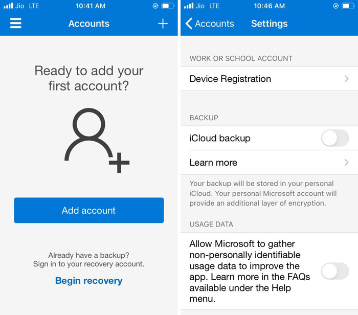 How to transfer Microsoft Authenticator to a new phone