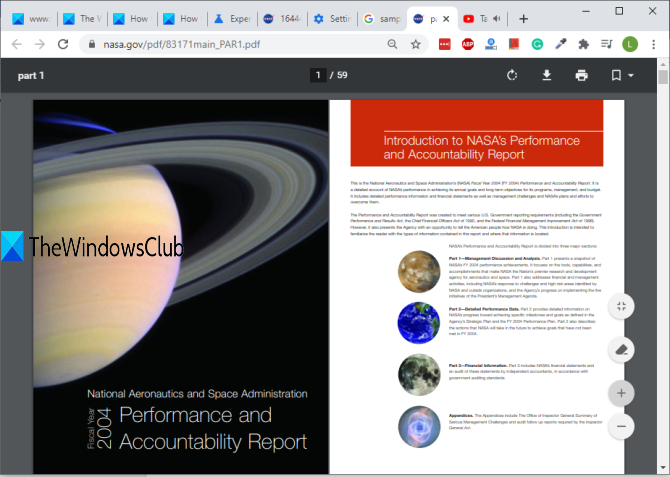 Enable Two-page View mode for PDF in Chrome PDF Viewer