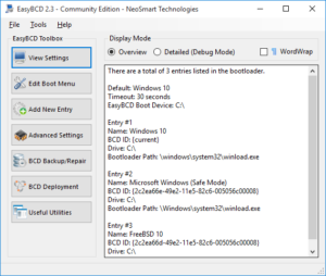 How to modify Boot settings & configure Bootloader