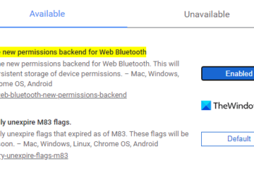 Enable or Disable Bluetooth Device Permissions in Google Chrome