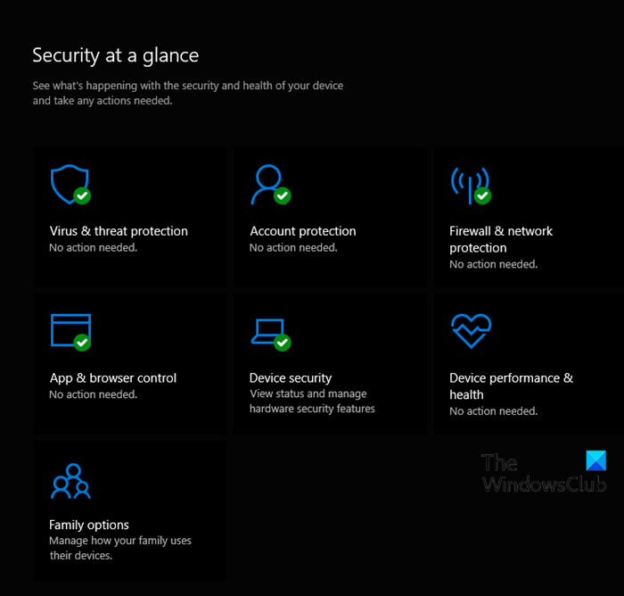 Enable or disable Notifications from Windows Security Center