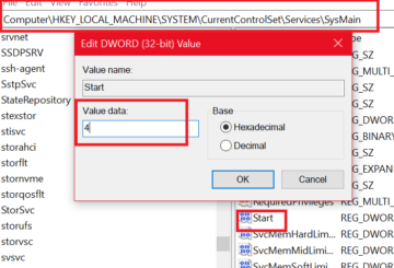 Fix high CPU usage by Service Host SysMain
