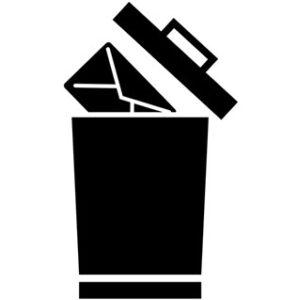 Recover deleted emails from trash