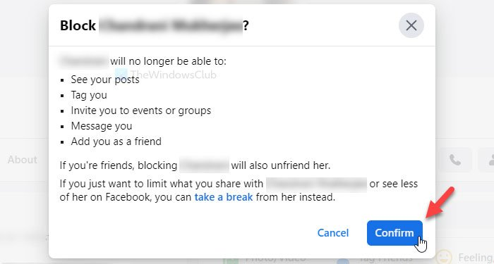 How to block or unblock someone on Facebook permanently