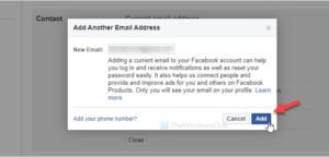 How to change email address on Facebook, Twitter, and LinkedIn