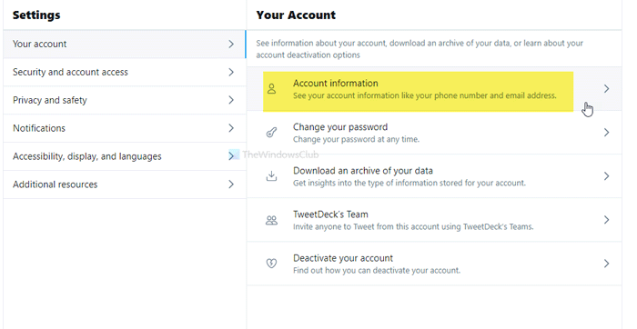 How to change your Twitter username or handle