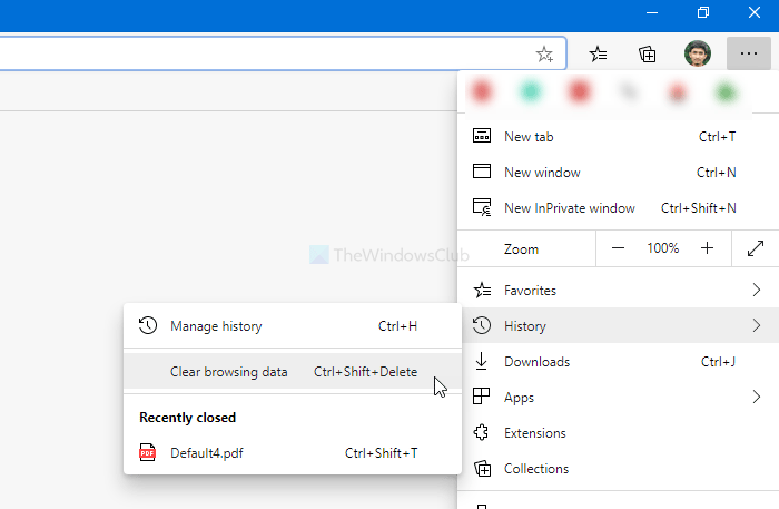 Microsoft Edge showing broken or no icon of favorite websites