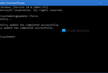 force Group Policy Update
