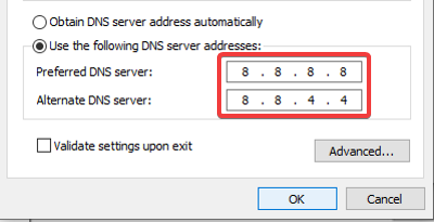 How to setup Google Public DNS
