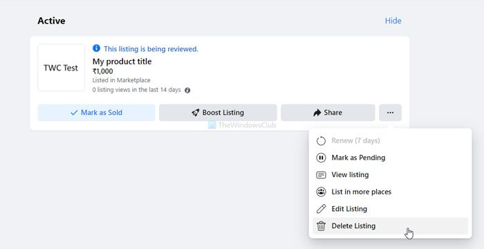 How to list items for sale on Facebook Marketplace