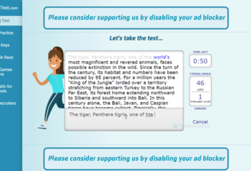 Best free online tools to test typing speed