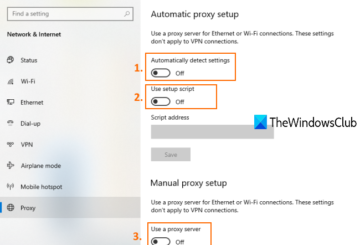how to turn off proxy in chrome