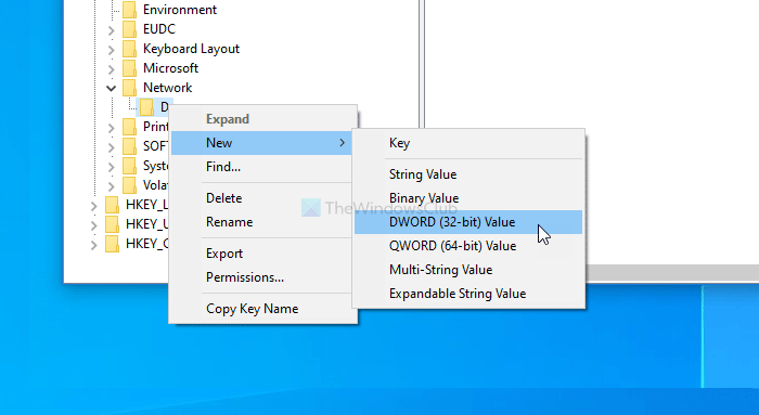 Fix unable to map network drive after updating Windows 10