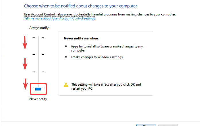 Can't set Process Priority in Task Manager