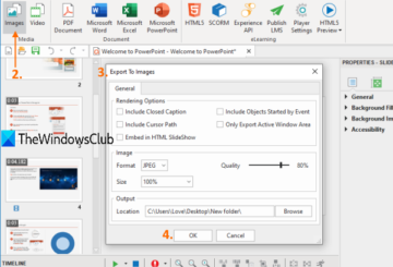 free powerpoint to image converter tools