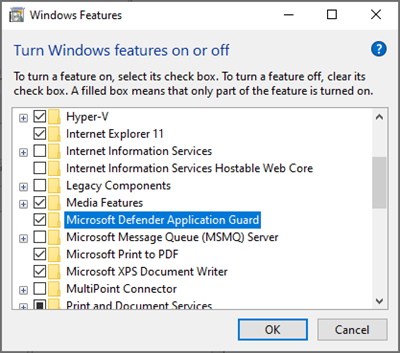 Microsoft Defender Application Guard for Office