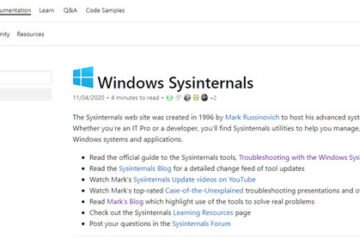 Microsoft Sysinternals Suite : Manage, troubleshoot, diagnose Windows systems, apps