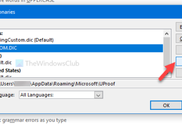 How to add a custom dictionary in Word, Excel, and Outlook