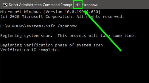 Command Prompt appears and disappears