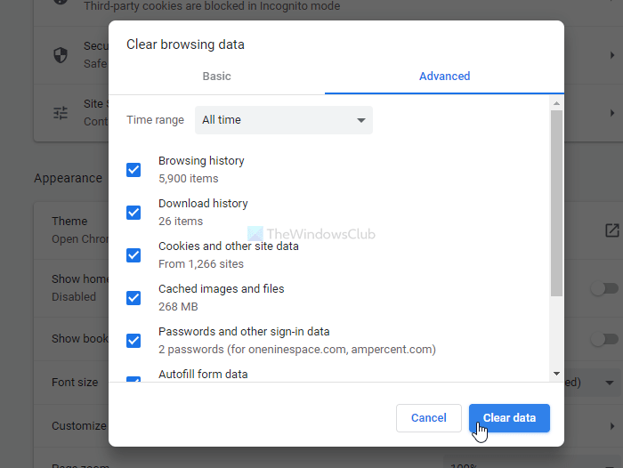 Google Chrome extensions not working
