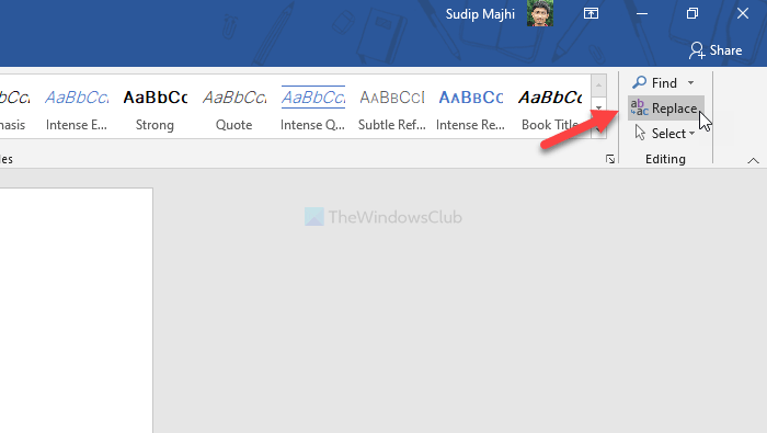 How to remove multiple extra spaces at once from Word document