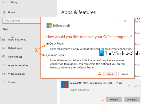 Restore deleted fonts in Microsoft Office