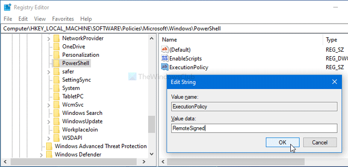 How to turn on or off Windows PowerShell script execution