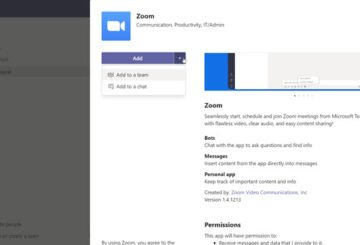Connect Zoom Microsoft Teams Chat Team