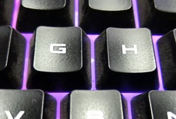 Why are there bumps on the F and J keys on a computer keyboard?
