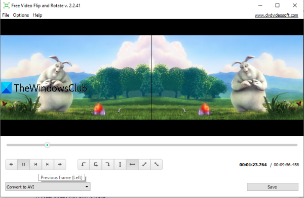 Free Video Flip and Rotate by DVDVideoSoft