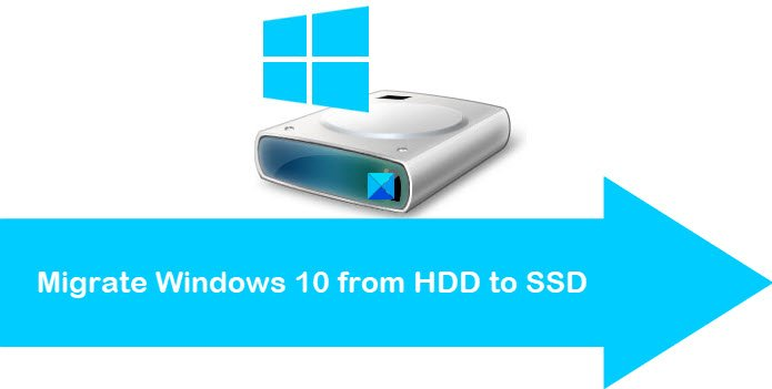 Migrate Windows 10 from HDD to SSD