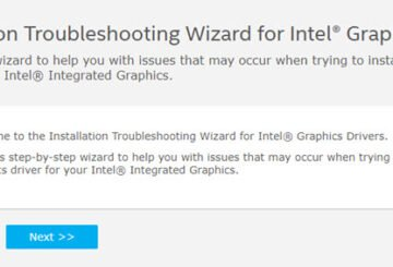 Troubleshoot for Intel Graphics Drivers problems