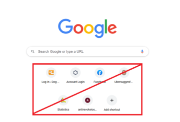 chrome not showing recently visited website
