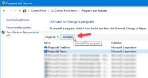 How to completely uninstall Microsoft Teams from Windows 10 and Android