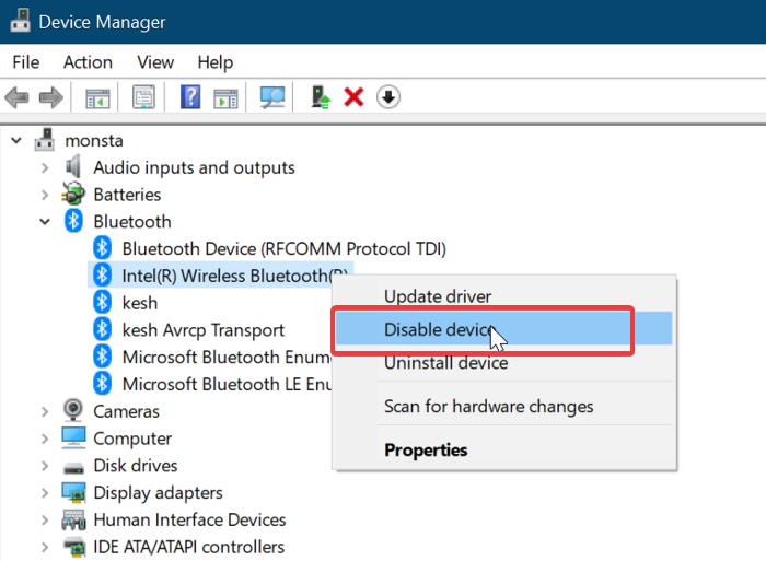 Install a Bluetooth adapter replacement in Windows 10