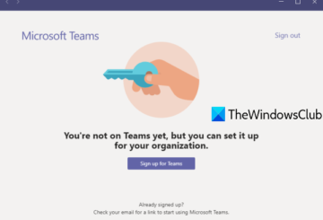 fix you're not on teams yet, but you can set it up for your organization