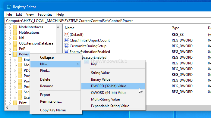 Power Management tab is missing in Device Manager