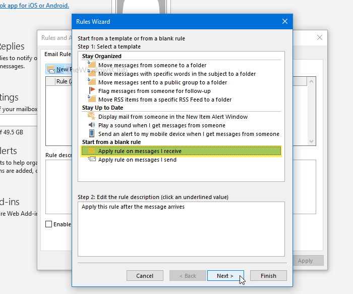 How to set up and use custom Automatic Reply template in Outlook