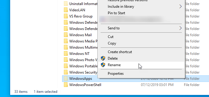 Fix We couldn't set your default save location in Windows 10