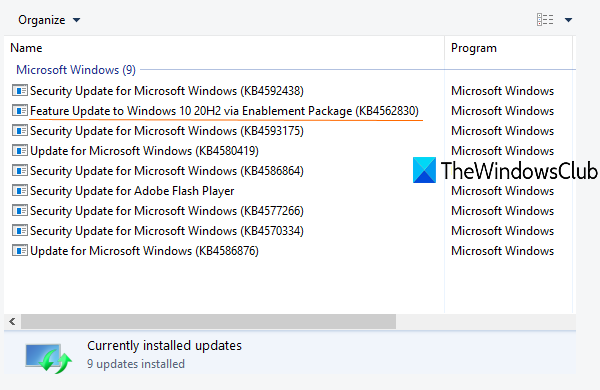 what is enablement package in windows 10