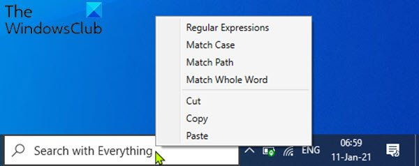 EverythingToolbar will improve Windows 10 Search experience