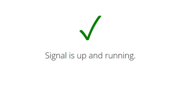 How to check if Signal or Telegram is Down or Up