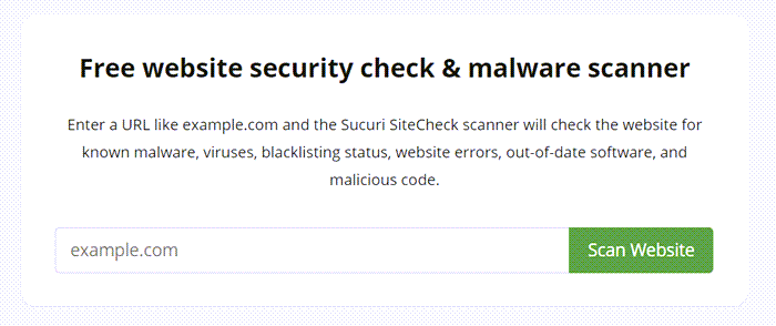 Online URL Scanners to Scan websites for malware